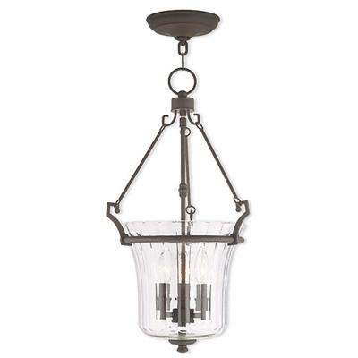 Cortland 3-Light Bronze Pendant