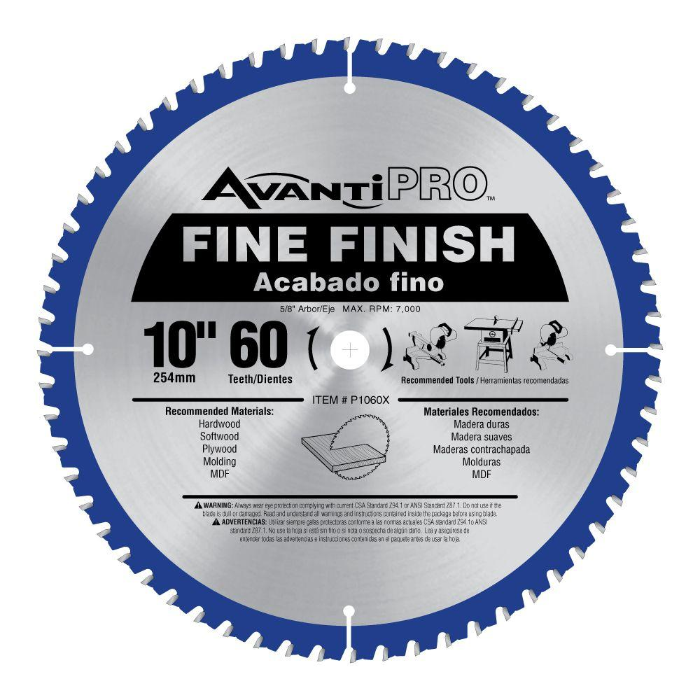 60 Tooth Table Saw Blade