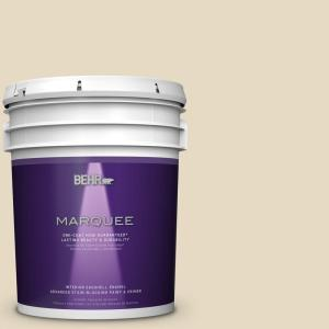 BEHR MARQUEE 5 gal. #MQ2-31 Scribe One-Coat Hide Eggshell Interior Paint by BEHR MARQUEE