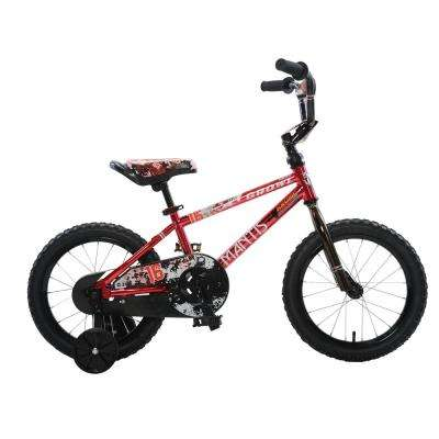 Growl Red Ready2Roll 16 in. Kids Bicycle