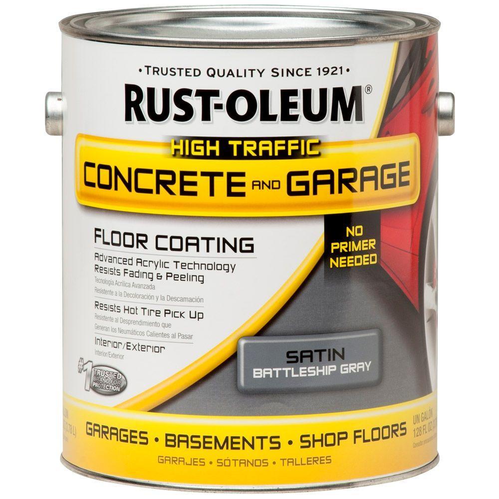 Rust-Oleum EpoxyShield 1 Gal. Battleship Gray Concrete