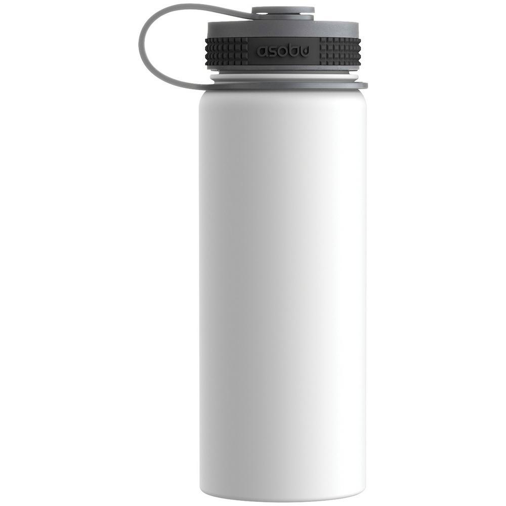 ASOBU Alpine 18 oz. White Flask