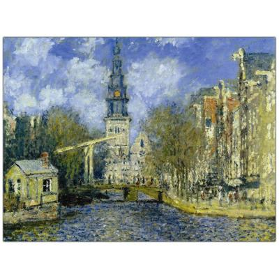 24 in. x 32 in. The Zuiderkerk at Amsterdam Canvas Art