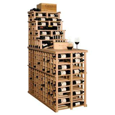 Waterfall 300-Bottle Pine Floor Wine Rack