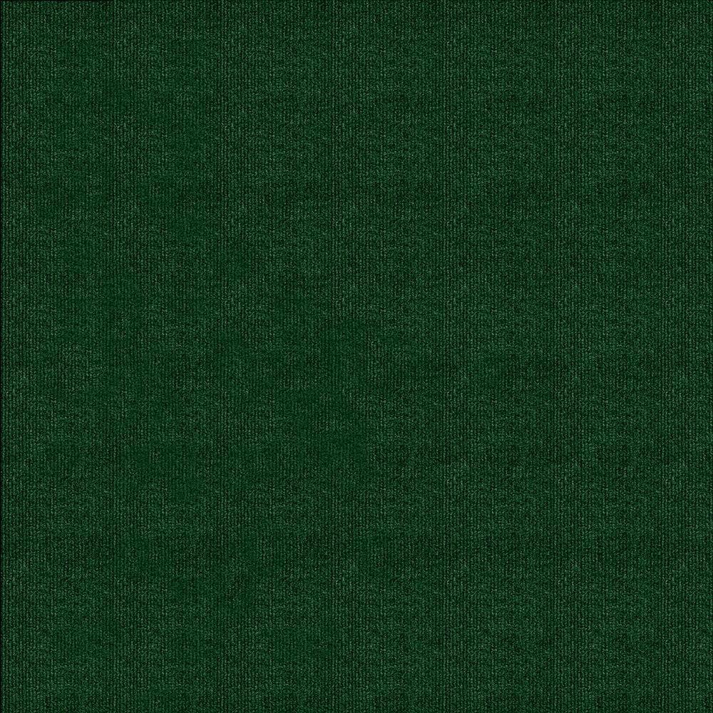 Design Smart Heather Green Rib Texture 18 in. x 18 in.