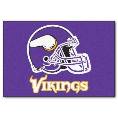 Minnesota Vikings 2 ft. x 3 ft. Area Rug