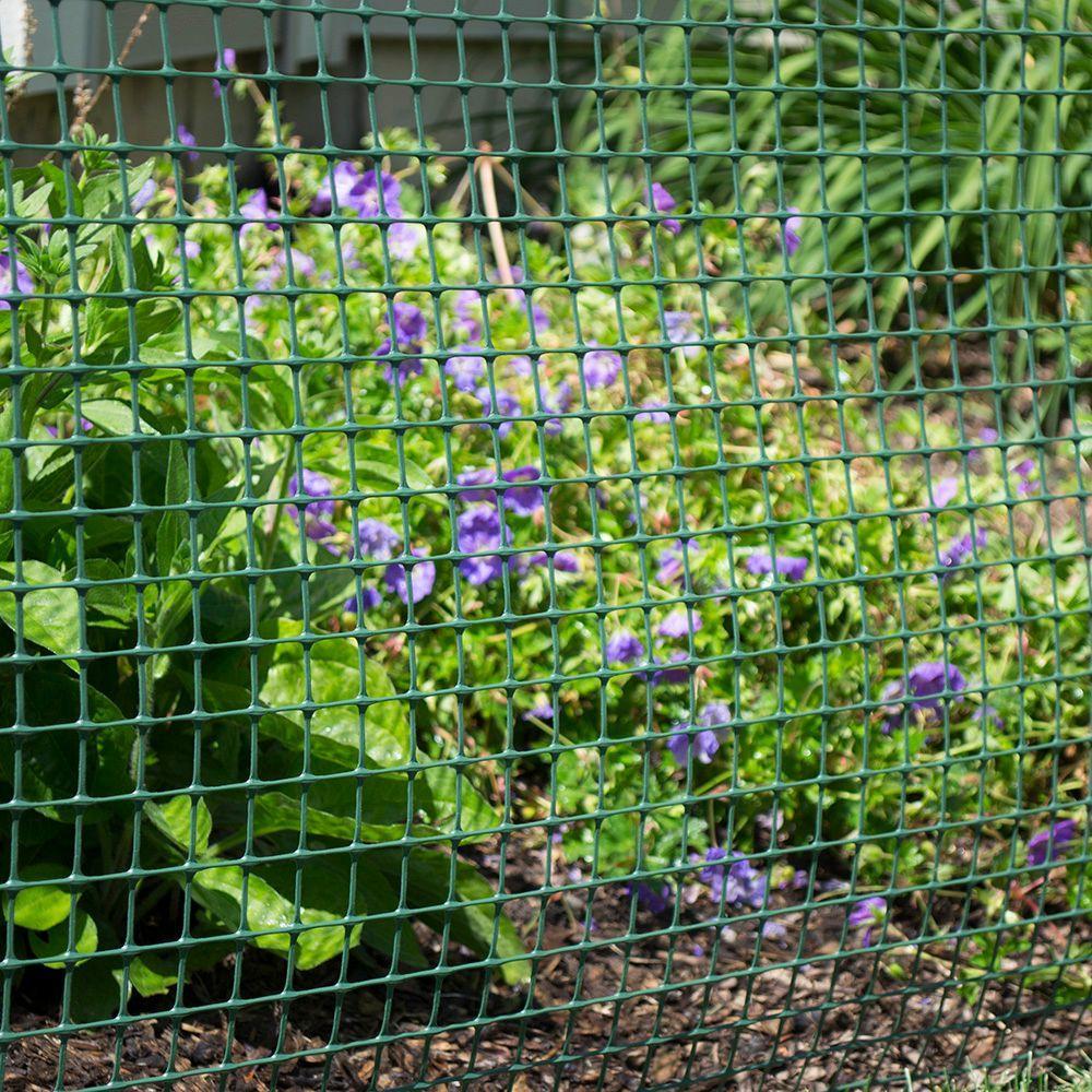 Everbilt Everbilt 1 In X 3 3 Ft X 25 Ft Green Plastic Garden