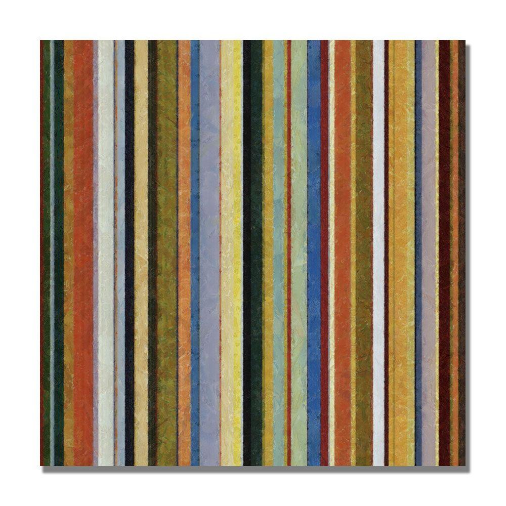 35 In X Comfortable Stripes V Canvas Art Mc0172 C3535gg The Home Depot