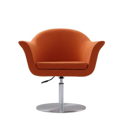 Orange Voyager Adjustable Swivel Accent Chair
