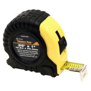 Click here to buy TradesPro 35 ft. Measure Tape Measure by TradesPro.