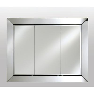 51 in. x 40 in. Radiance Cabinets Recessed Medicine Cabinet