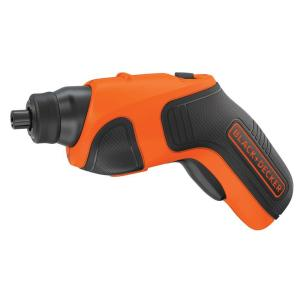 Click here to buy Black & Decker 4-Volt MAX Lithium-Ion Cordless Rechargeable Screwdriver with Charger by BLACK+DECKER.
