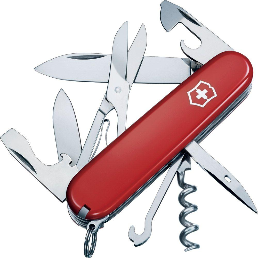 Victorinox of Switzerland Swiss Army Outdoor Climber Pocket Knife/Multi-Tool