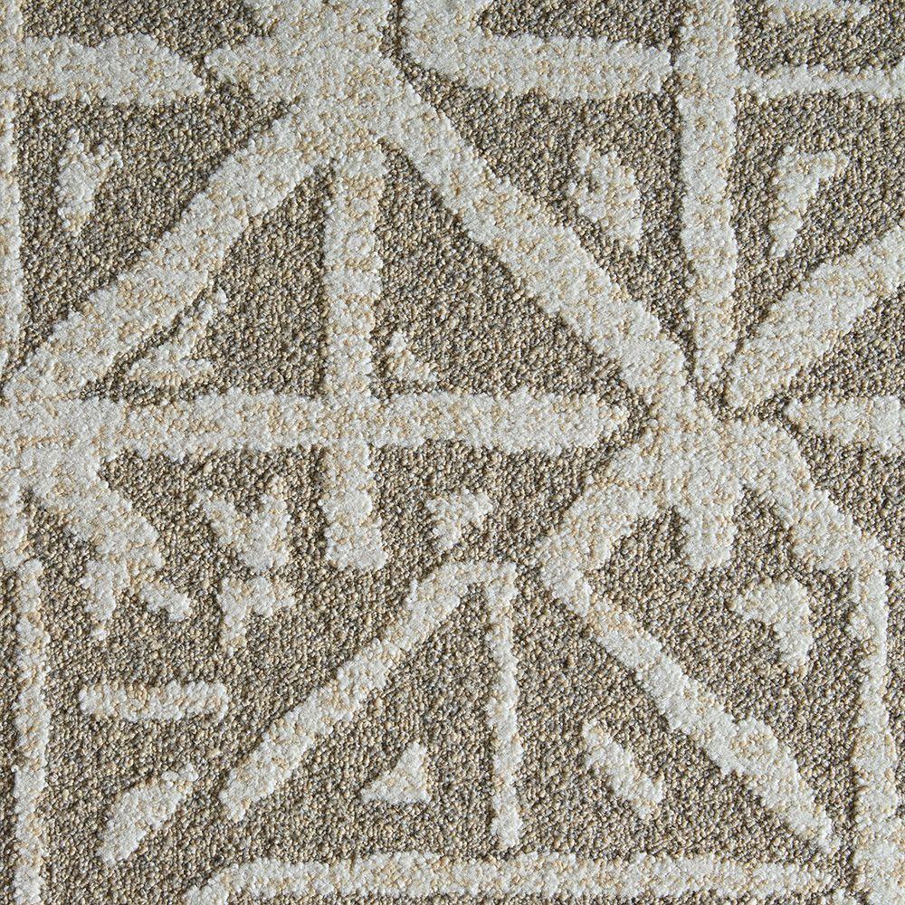 FLOR Yabara Dune 19.7 in. x 19.7 in. Carpet Tile (6 Tiles/Case)
