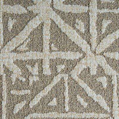 Yabara Dune 19.7 in. x 19.7 in. Carpet Tile (6 Tiles/Case)