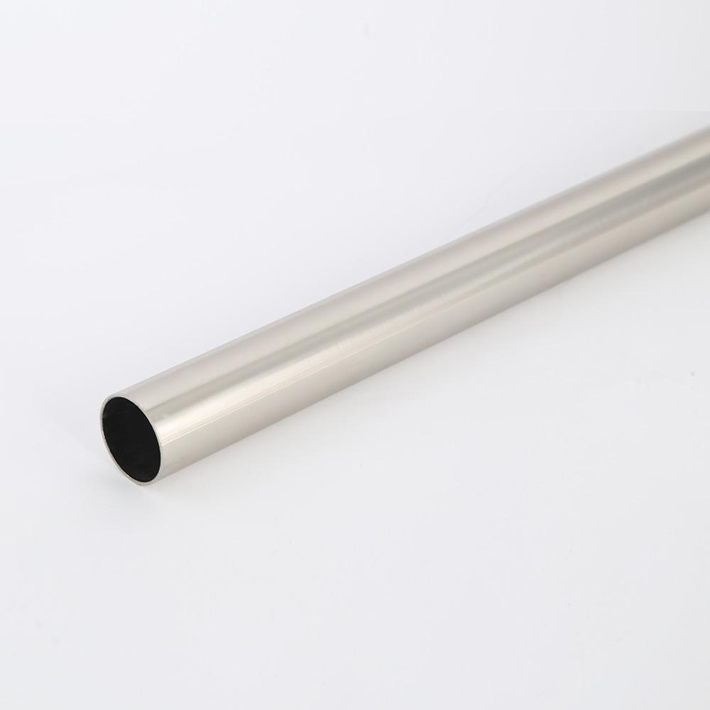 8 ft. Brush Nickel Heavy Duty Closet Rod