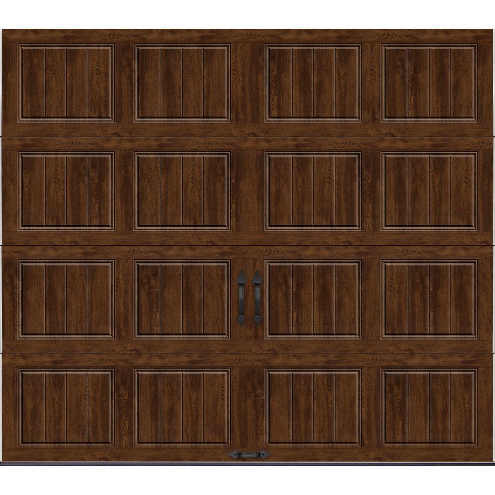 Gallery Collection Insulated Short Panel Garage Door