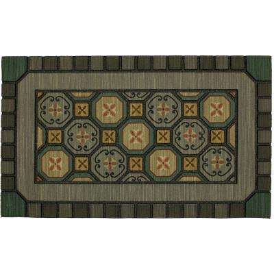 Mexicali Tiles 18 in. x 30 in. Doorscapes Mat