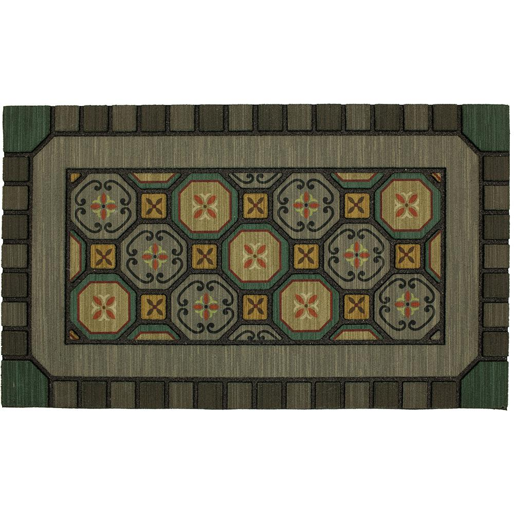 Mohawk Home Mexicali Tiles 18 In X 30 In Doorscapes Mat