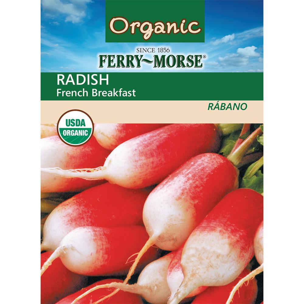 Ferry-Morse Radish French Breakfast Organic Seed