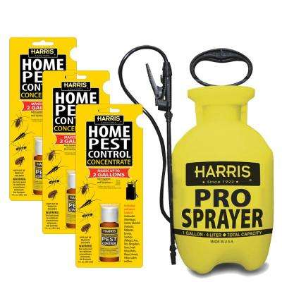 1 oz. Pest Control Concentrate and 1 Gal. Tank Sprayer Value Pack (3-Pack)