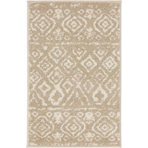 Deals on Home Decorators Collection Tribal Essence Beige 3x5ft Area Rug