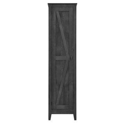 Brownwood Rustic Gray 18 in. Wide Storage Cabinet