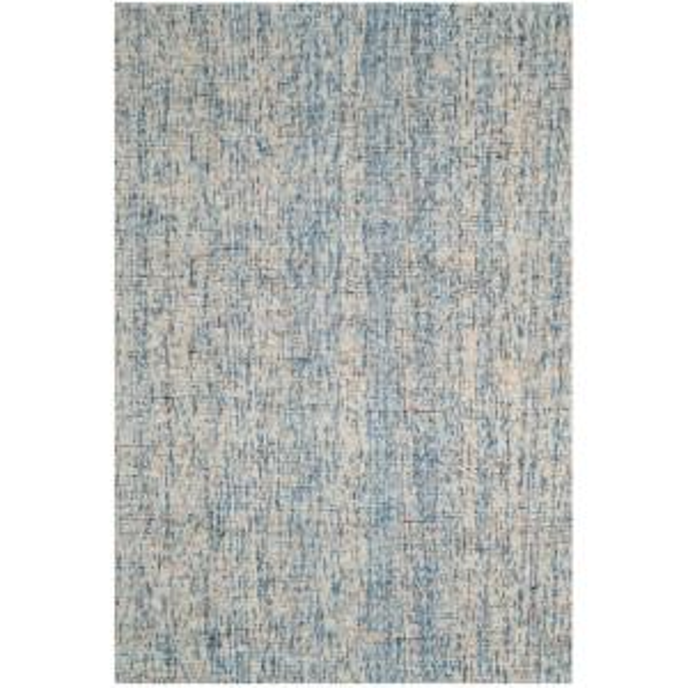 Safavieh Abstract Dark Blue Rust 6 Ft X 9 Ft Area Rug