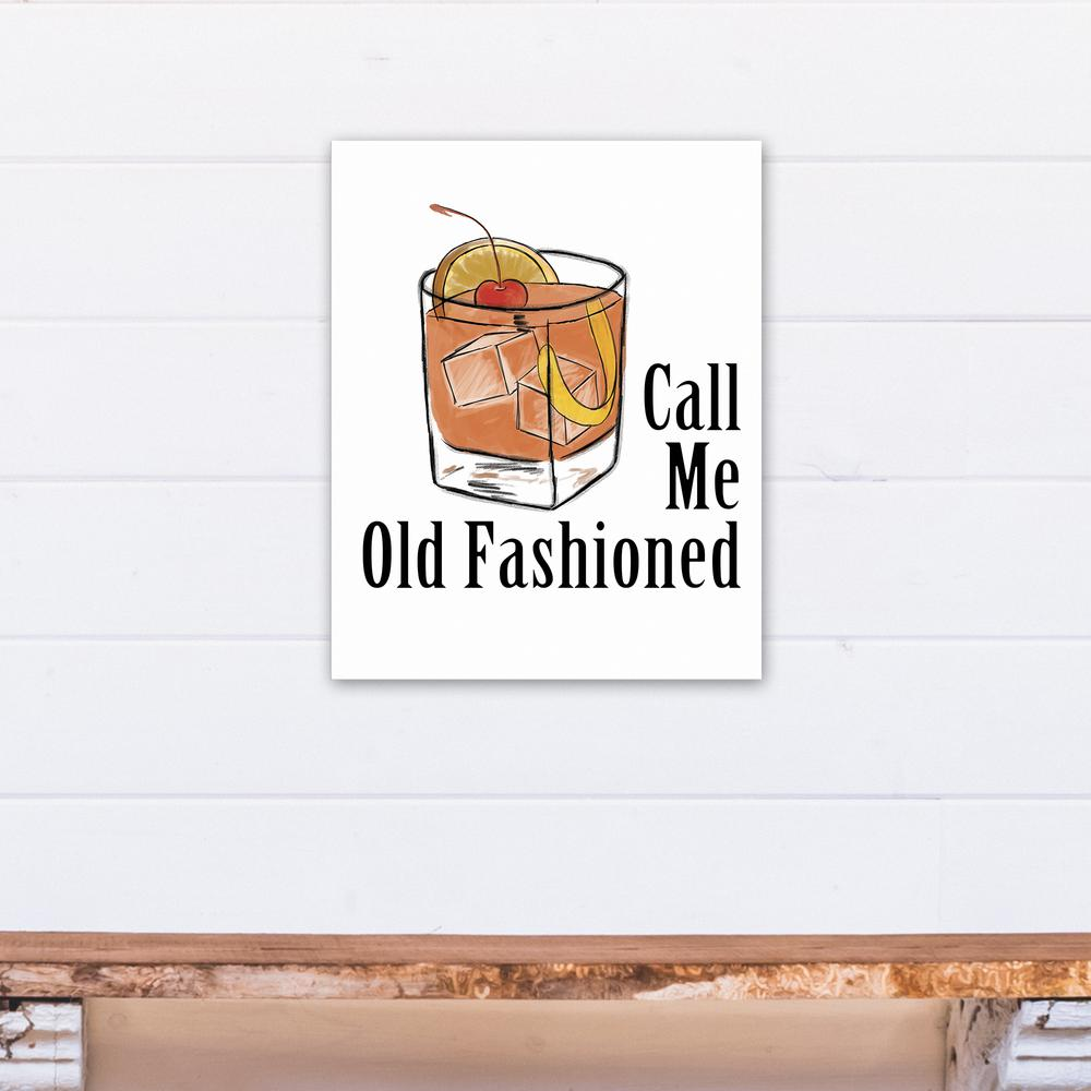 Designs Direct 16 In X 20 In Call Me Old Fashioned Printed