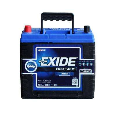 25 Auto AGM Battery