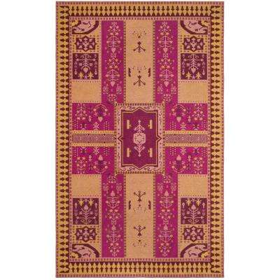 Purple 7 X 9 Area Rugs Rugs The Home Depot