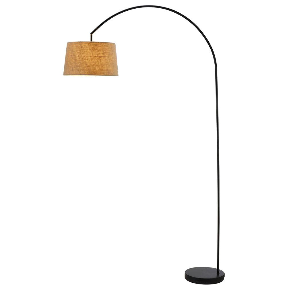 Goliath 83 in. Black Arc Lamp