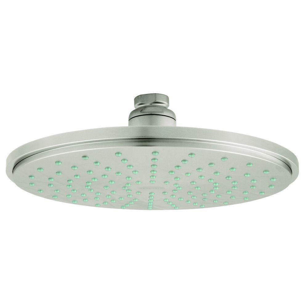 Rainshower 1-Spray 8 in. Fixed Showerhead in Infinity Brushed Nickel