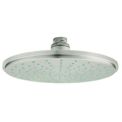 Rainshower 1-Spray 8 in. Fixed Shower Head in Infinity Brushed Nickel