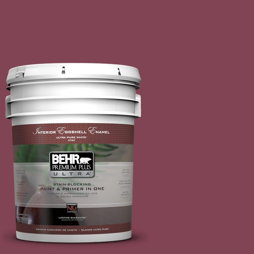 5 gal. #110D-6 Haunting Melody Eggshell Enamel Interior Paint and Primer