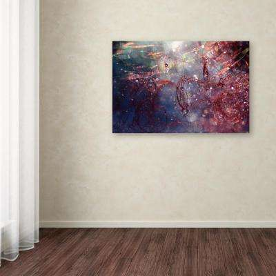"""30 in. x 47 in. """"Adventures of Red"""" by Beata Czyzowska Young Printed Canvas Wall Art"""