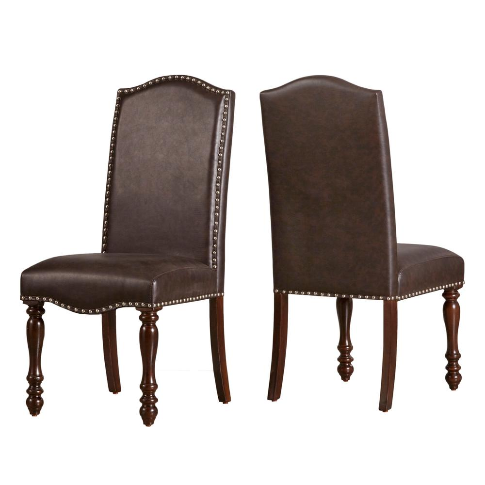 HomeSullivan Madison Brown Dining Chair