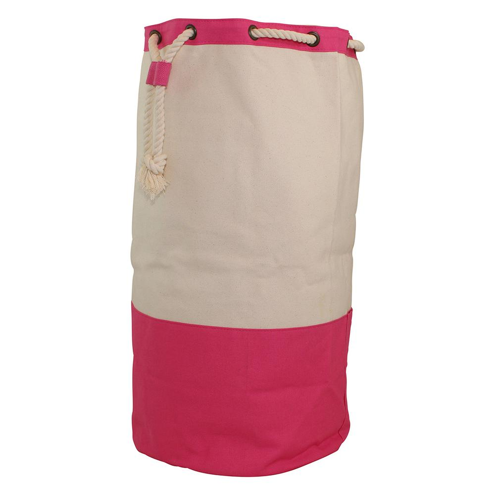 Laundry Duffel Hot Pink