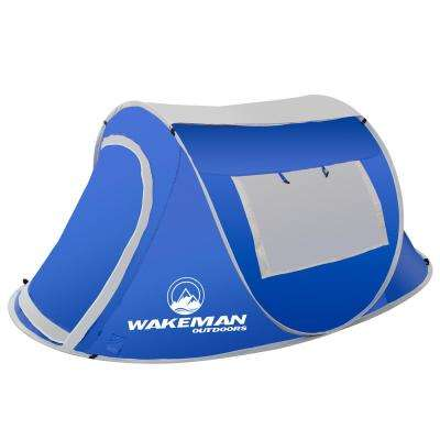 2-Person Blue Sunchaser Pop-Up Tent