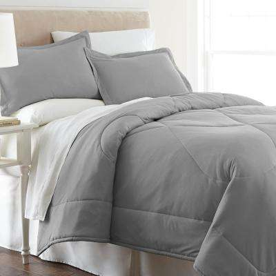 Greystone King 3-Piece Comforter Set