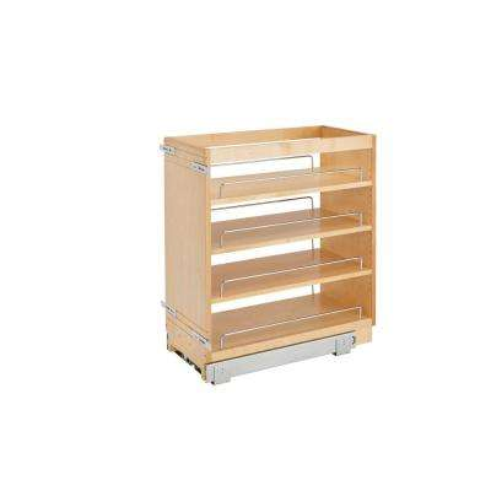 25.48 in. H x 11 in. W x 22.47 in. D Pull-Out Wood Base Cabinet Organizer