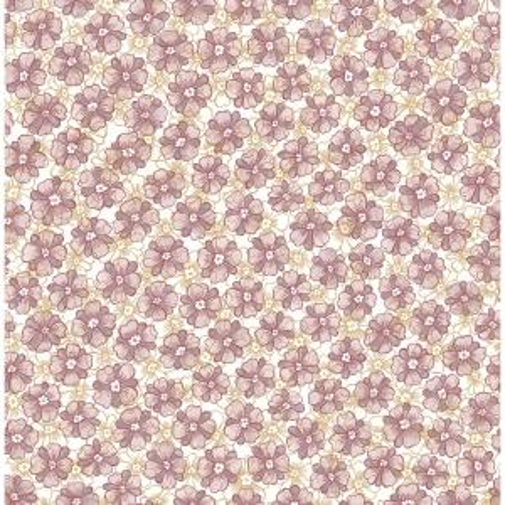 Allison Lavender Floral Wallpaper