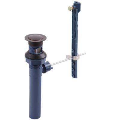 Foundations Series Pop-Up Drain Assembly in Oil Rubbed Bronze without Lift Rod