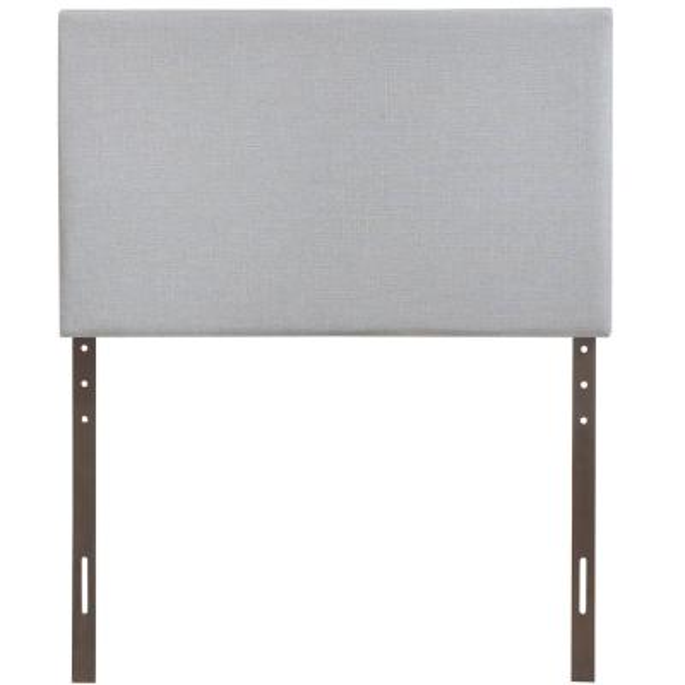 Region Sky Gray Twin Upholstered Headboard