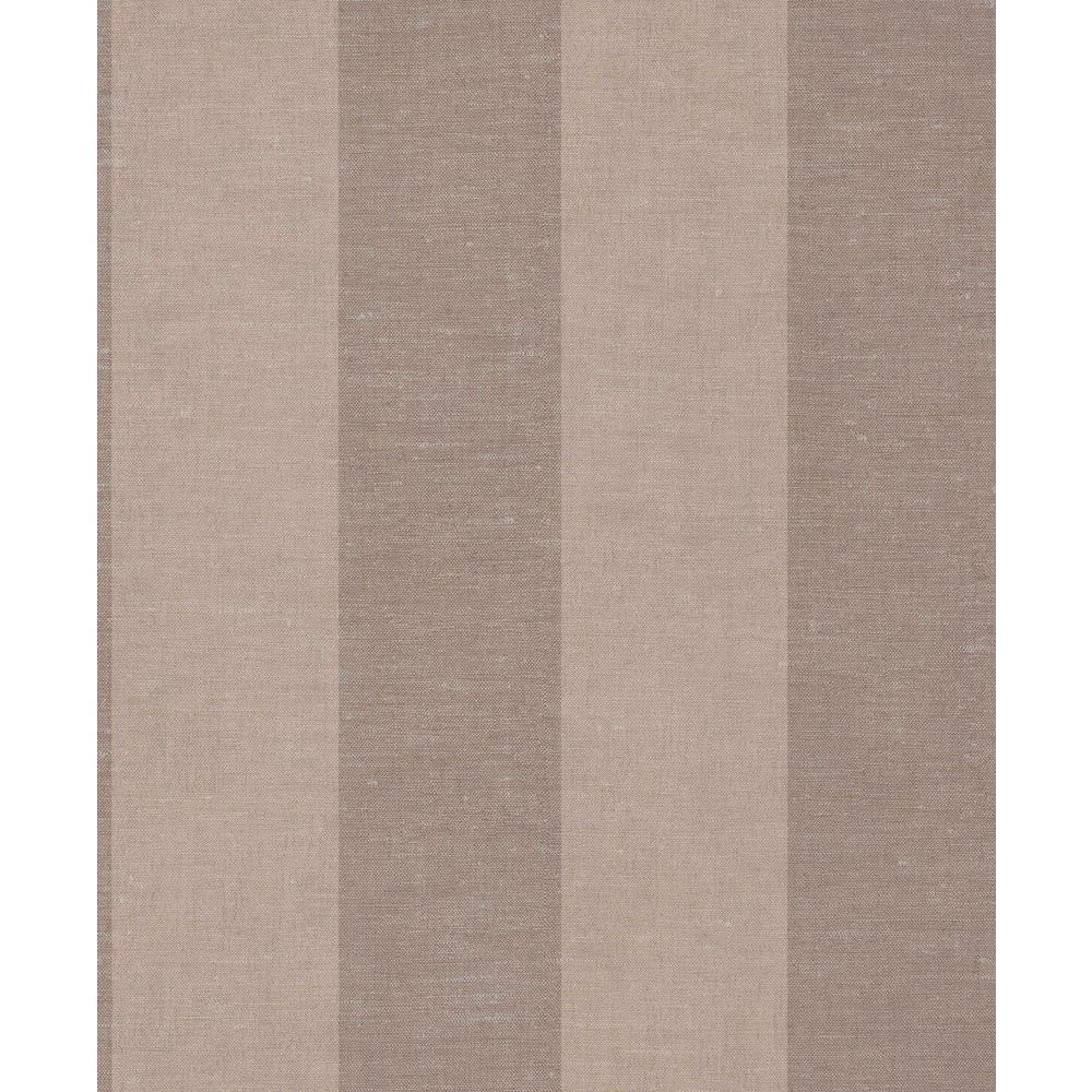 Mauve Large Linen Stripes Wallpaper