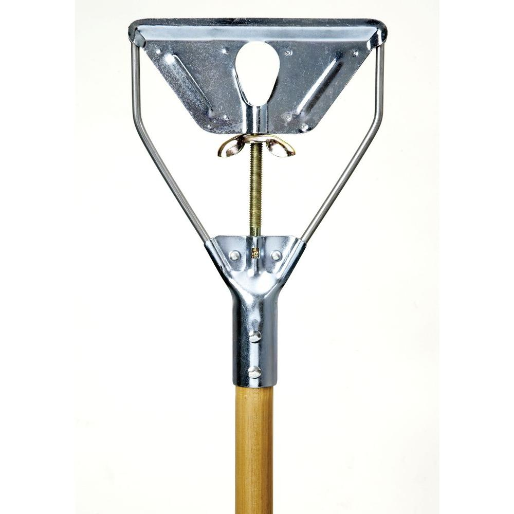 Ti-Dee American Metal Quick-Change Mop with 54 in. Wood Handle