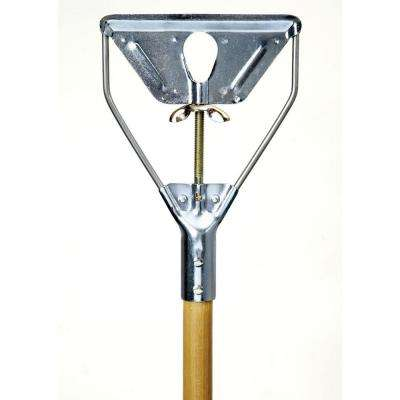 Metal Quick-Change Mop with 54 in. Wood Handle