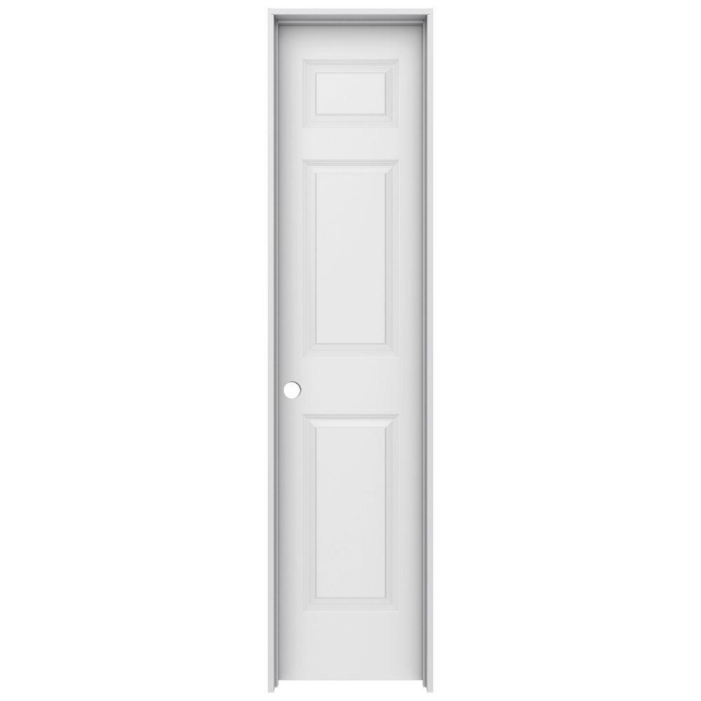Jeld wen 18 in x 80 in colonist primed right hand smooth for 18 x 80 interior door