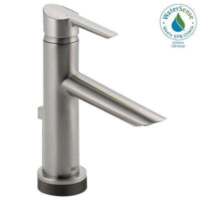 Compel Single Hole Single-Handle Bathroom Faucet with Touch2O.xt Technology in Stainless