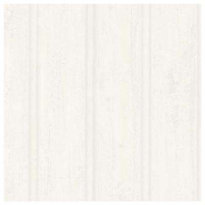 Beadboard White Wallpaper Sample
